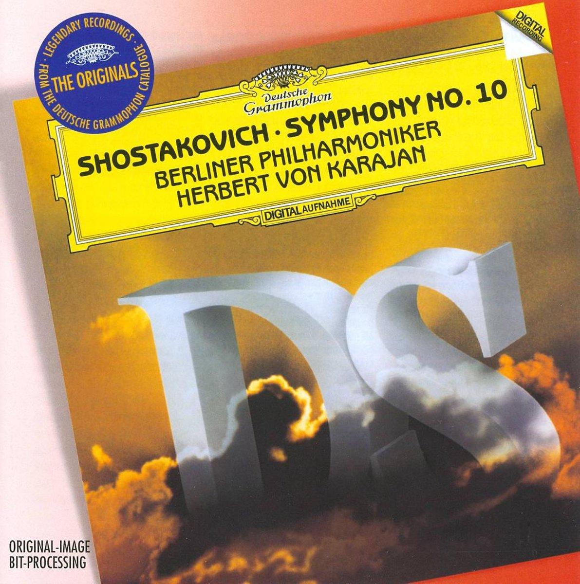 Herbert von Karajan. Shostakovich: Symphony No.10 herbert von karajan beethoven symphony no 9 overture