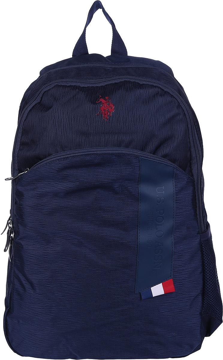 Рюкзак мужской U.S. Polo Assn., цвет: темно-синий. A081SZ060OKLPLCAN8187_NAVYBLUE рюкзак спортивный мужской adidas цвет синий dm7680