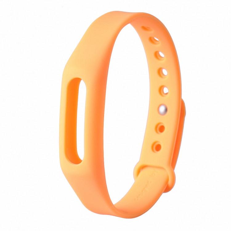 Ремешок для фитнес-браслета Xiaomi Mi Band 1 Mi Band 1S, оранжевый все цены