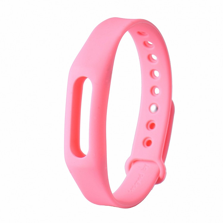 Ремешок для фитнес-браслета Xiaomi Mi Band 1 Mi Band 1S, розовый tpu wristband replacement strap for xiaomi mi band 2
