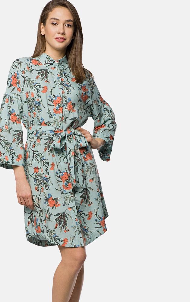 Фото - Платье MR520 блузка в горошек с воланами на рукавах 3 12 лет