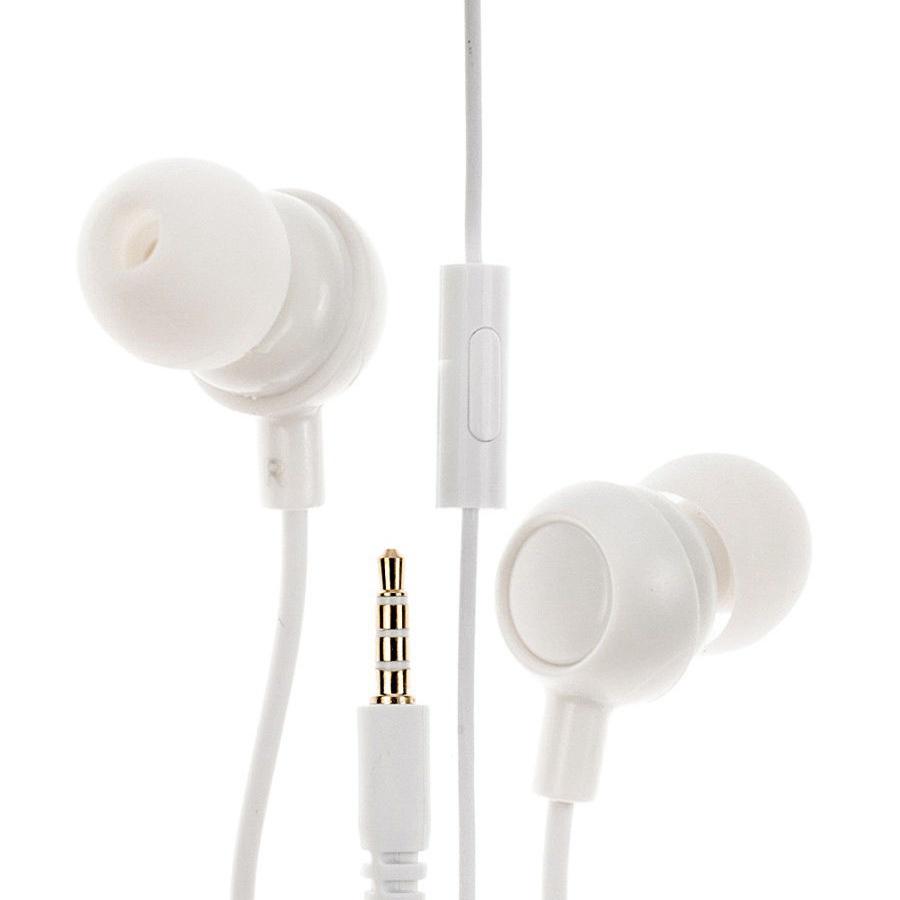 Наушники IQ Format вакуумные, проводные, с микрофоном, белый наушники с микрофоном velton vlt 022