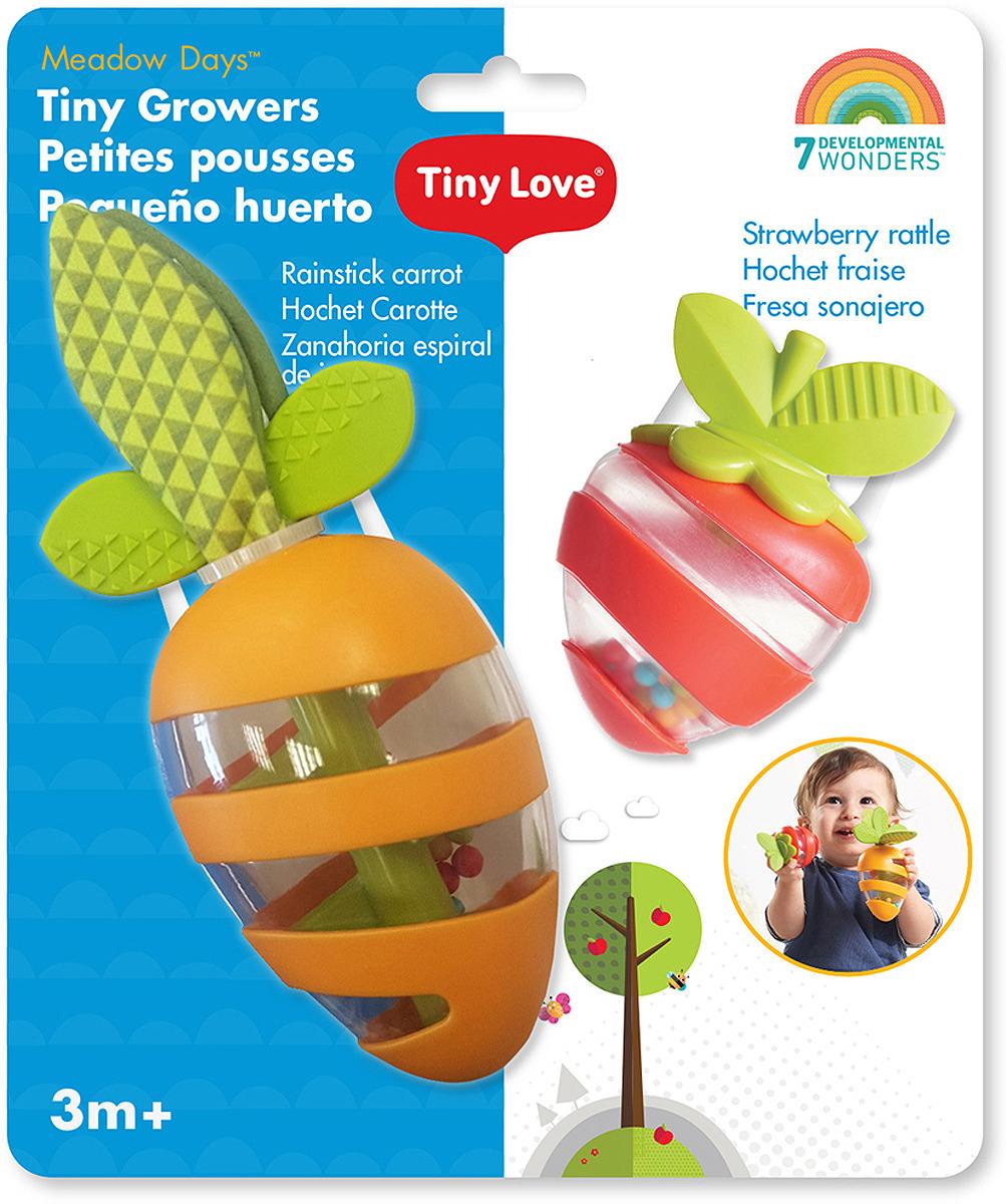 Развивающая игрушка Морковка и Клубничка, 1117501110 игрушка жираф tiny love