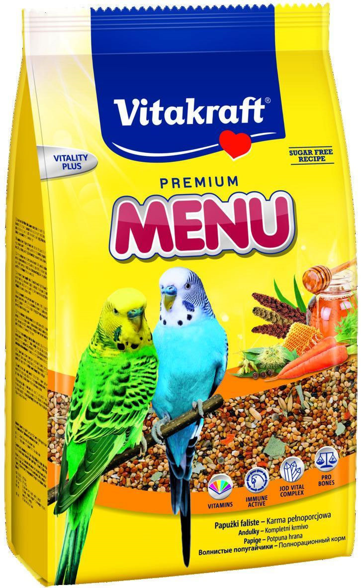 "Корм для волнистых попугаев Vitakraft ""Menu Vital"", 500 г"