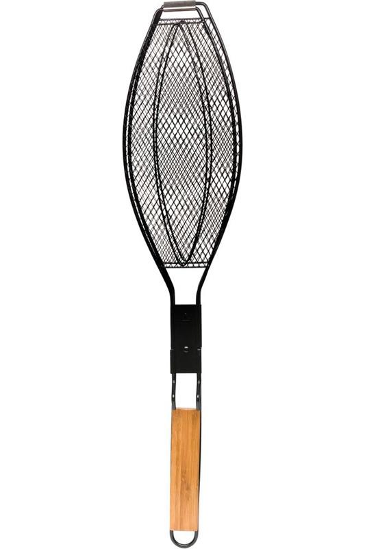 Решетка-гриль SAGAFORM для рыбы, светло-коричневый, серебристый решетка гриль для рыбы laracook 31 13 см