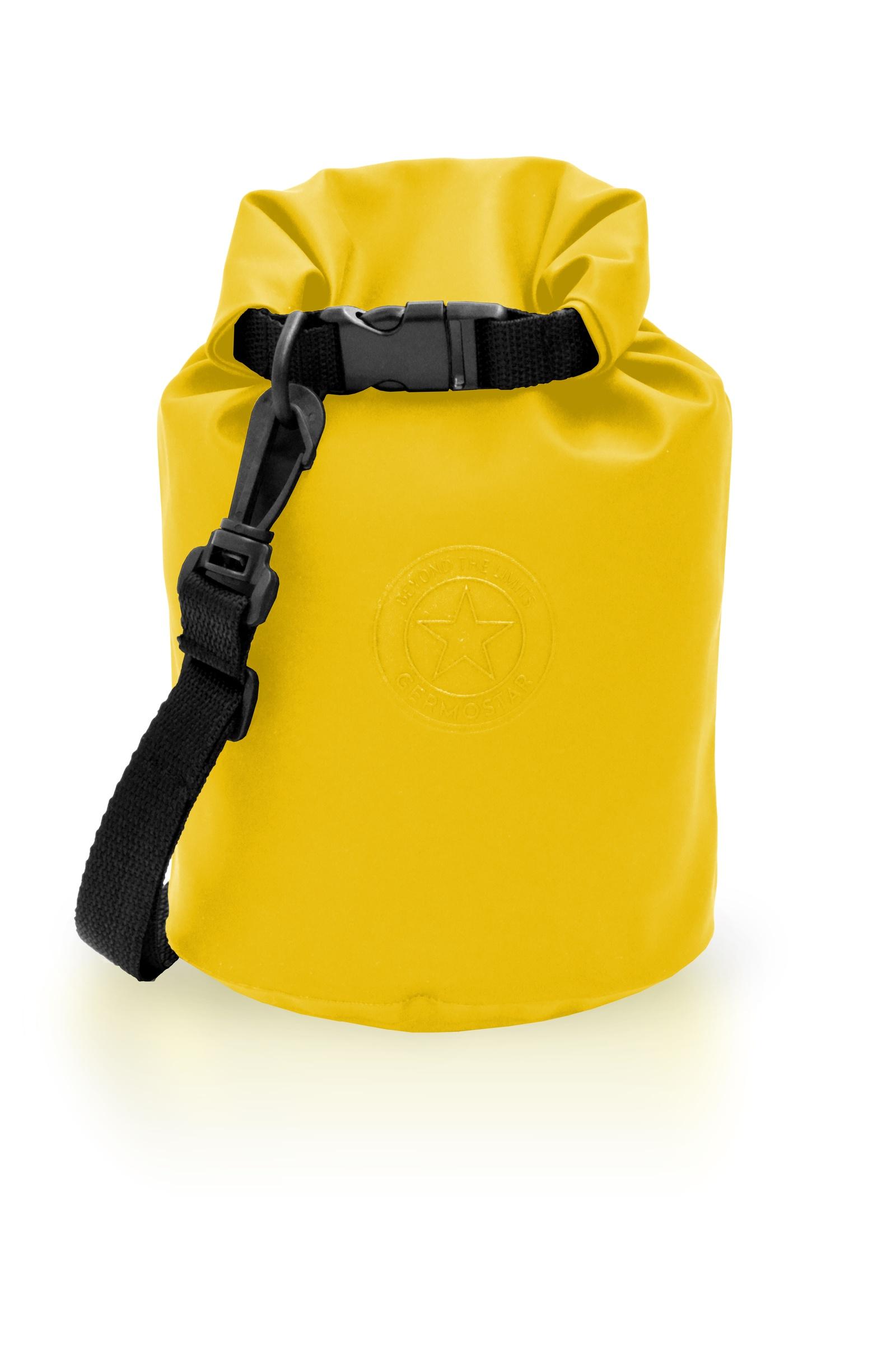 Гермомешок GERMOSTAR М пвх трикотаж 16 л, желтый