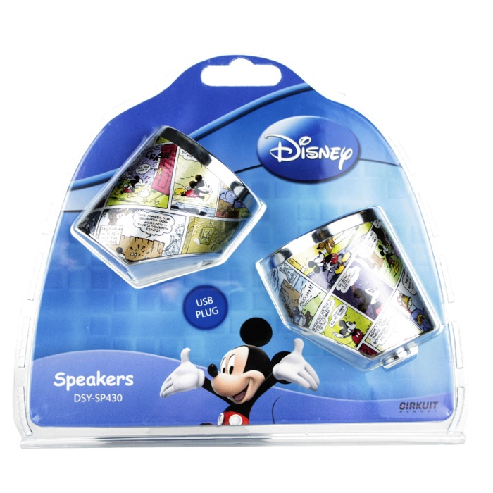 Компьютерная акустика Disney DSY-SP430 компьютерная акустика genius sp u120 31731057100