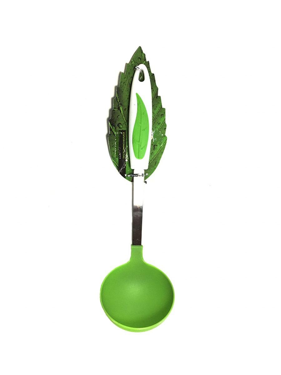 Ложка разливная (половник) Migliores Пластиковый половник, салатовый, белый половник nessie зелёный