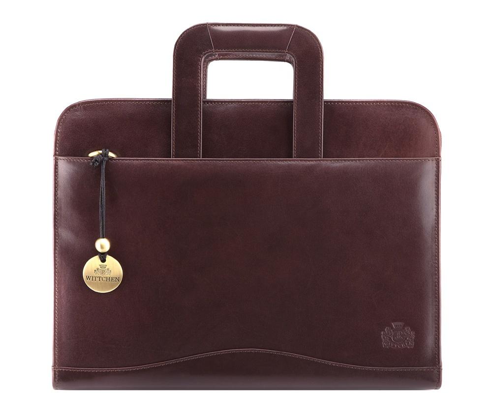 Портфель Wittchen 21-3-062, коричневый сумка wittchen 15 4 062 черный