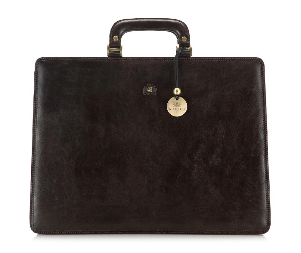 Портфель Wittchen 39-3-109, коричневый портфель wittchen 39 3 104 39 3 104 3 коричневый