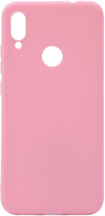 Чехол для сотового телефона GOSSO CASES для Xiaomi Redmi Note 7 Soft Touch pink, розовый