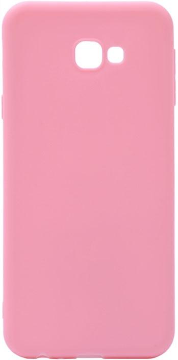 Чехол для сотового телефона GOSSO CASES для Samsung Galaxy J4+ Soft Touch Pink, розовый