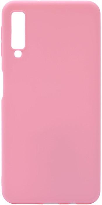 Чехол для сотового телефона GOSSO CASES для Samsung Galaxy A7 (2018) Soft Touch Pink, розовый