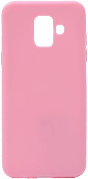 Чехол для сотового телефона GOSSO CASES для Samsung Galaxy A6 (2018) Soft Touch Pink, розовый