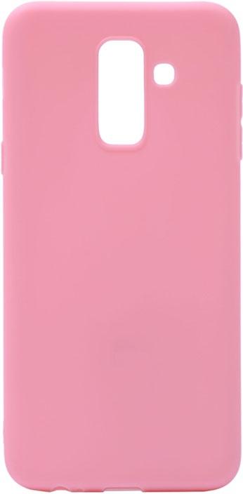Чехол для сотового телефона GOSSO CASES для Samsung Galaxy A6+ (2018) Soft Touch Pink, розовый