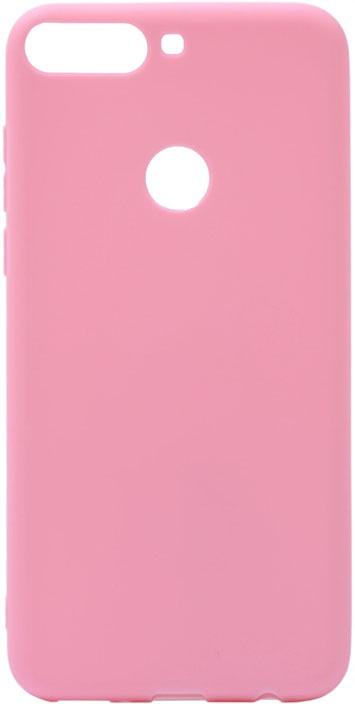 Чехол для сотового телефона GOSSO CASES для Honor 7C Pro Soft Touch Pink, розовый