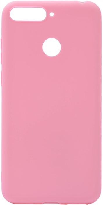 Чехол для сотового телефона GOSSO CASES для Honor 7C Soft Touch Pink, розовый