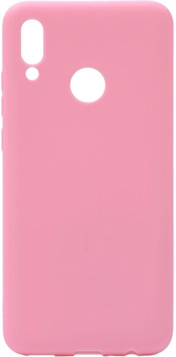 Чехол для сотового телефона GOSSO CASES для Huawei P smart 2019 Soft Touch Pink, розовый