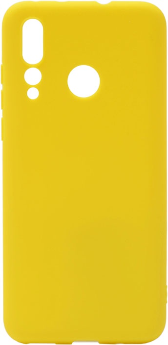 Чехол для сотового телефона GOSSO CASES для Huawei Nova 4 Soft Touch Yellow, желтый