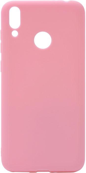 Чехол для сотового телефона GOSSO CASES для Honor 8C Soft Touch Pink, розовый