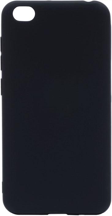 Чехол для сотового телефона GOSSO CASES для Xiaomi Redmi Go Soft Touch Black, черный