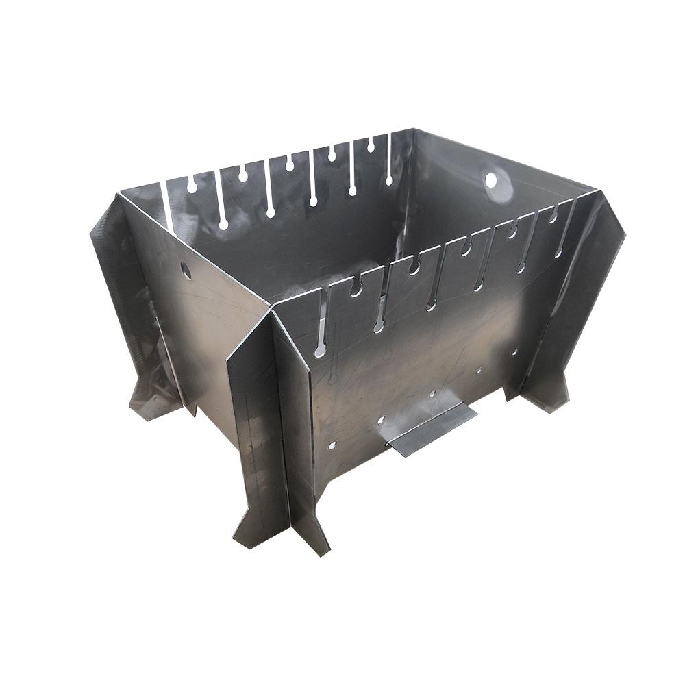 Мангал разборный (540х400х310 мм) цены