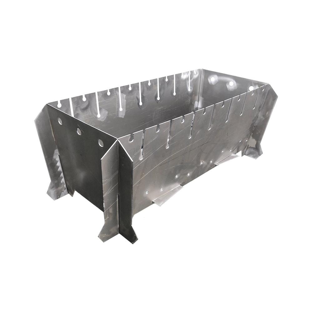 Мангал разборный (800х400х310 мм) цены