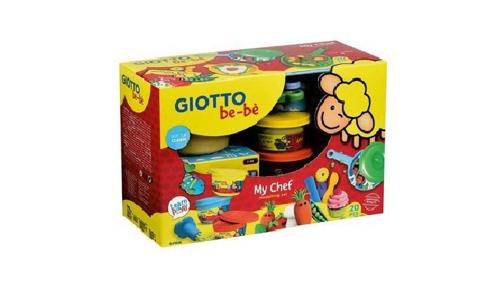 Масса для лепки Giotto Be Be 469400 набор д творчества giotto джиотто be be super modelling dough масса для моделирования 3шт 100гр бел син зел 462503