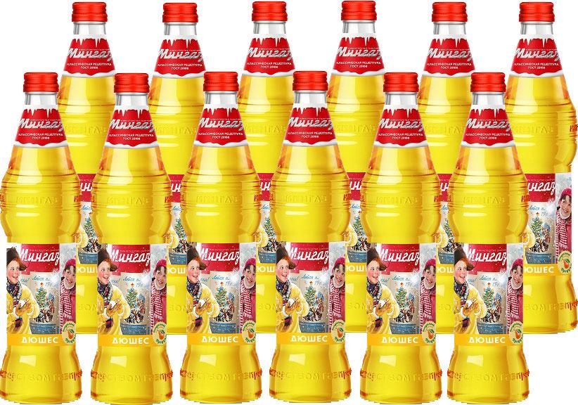 Лимонад Министерство Газировки Дюшес, 12 шт по 500 мл лимонад напитки из черноголовки вишня 12 шт по 500 мл