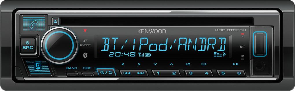 Автомагнитола CD Kenwood KDC-BT530U x cd