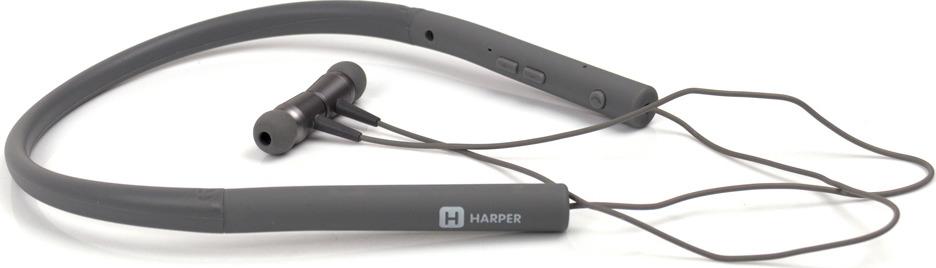 Беспроводные наушники Harper HB-303, серый