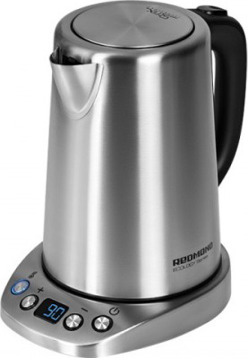 Чайник электрический Redmond RK-M1305D, серебристый