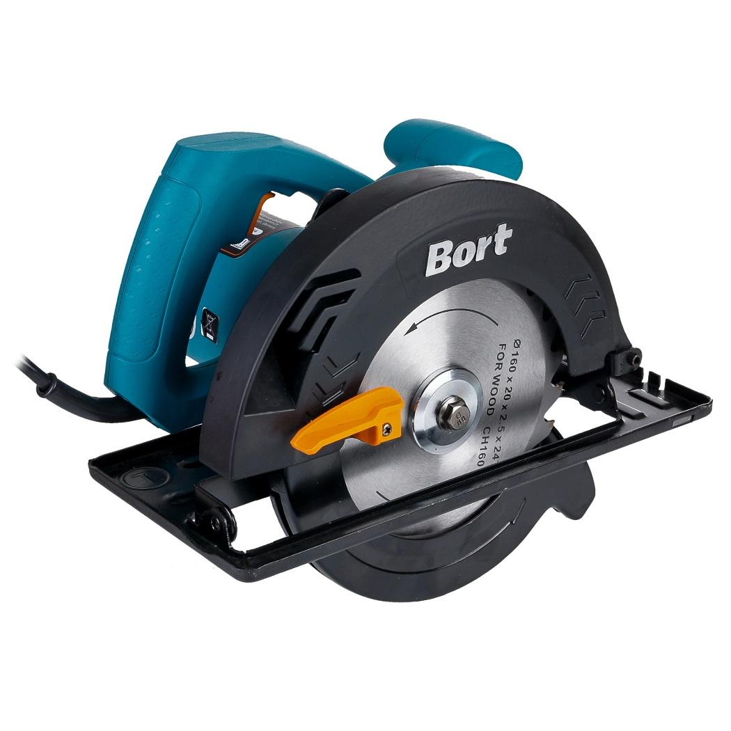 Пила дисковая Bort BHK-160U пила дисковая bort bhk 160u