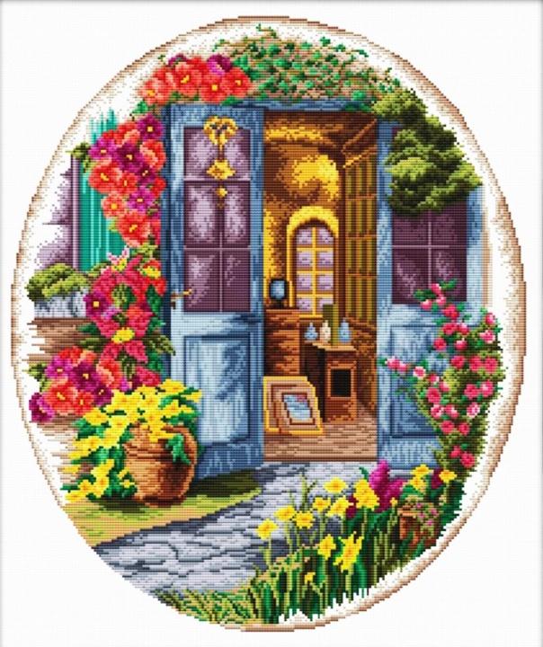 Набор для вышивания DOME A front porch