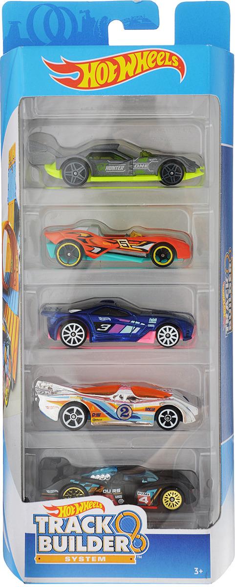 Подарочный набор из пяти машинок Hot Wheels в ассорт. из серии HW CITY набор машинок hot wheels 54886 масштаб 1 64 10шт