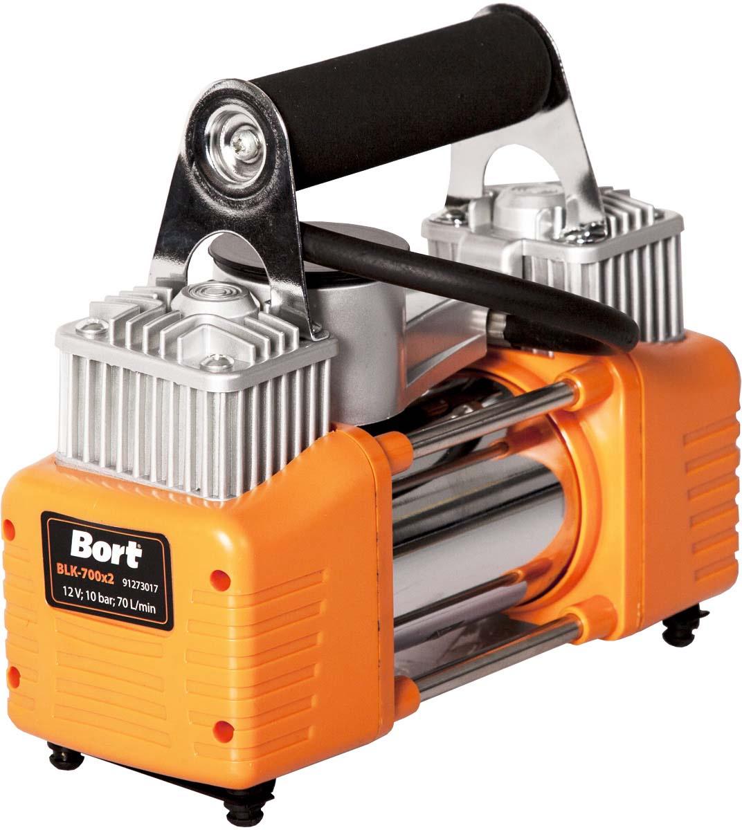 Автомобильный компрессор Bort BLK-700x2 автомобильный компрессор bort blk 350