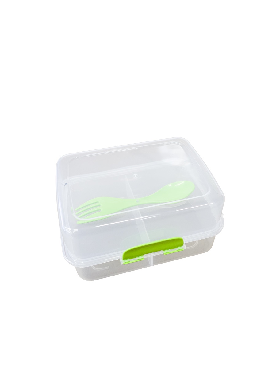 Контейнер пищевой Gondol G503зеленый, зеленый, прозрачный