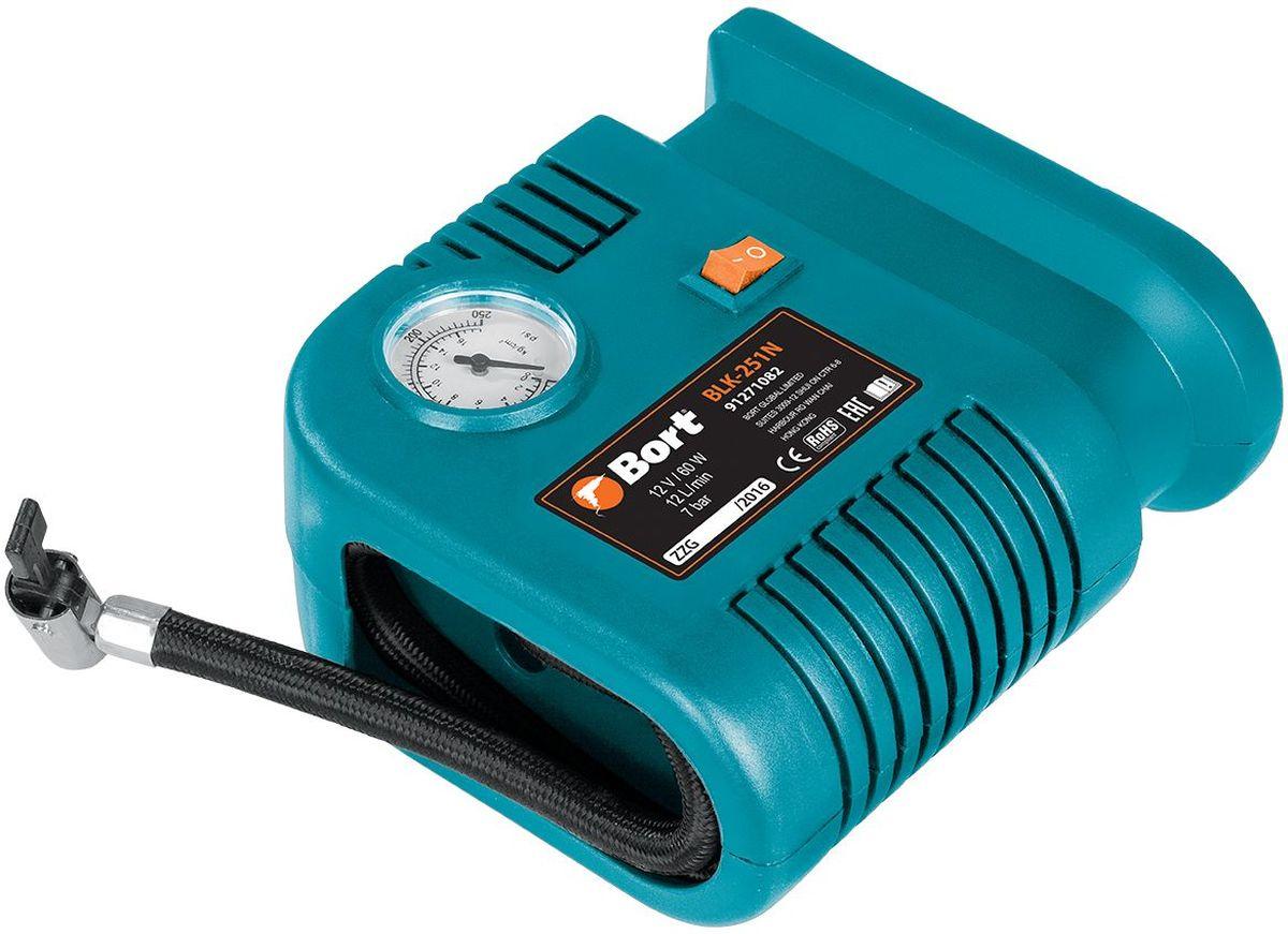 Автомобильный компрессор Bort BLK-251N автомобильный компрессор bort blk 350