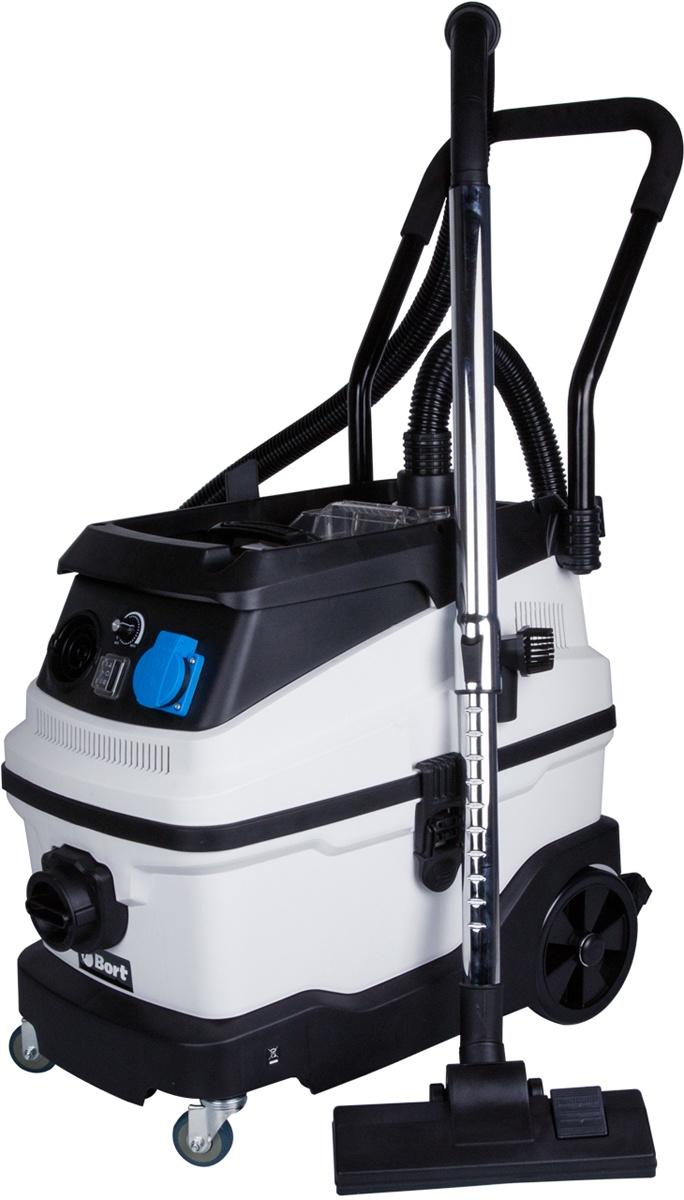 Строительный пылесос Bort BSS-1630-PREMIUM пылесос хозяйственный сухой и влажной уборки shop vac super 30 i