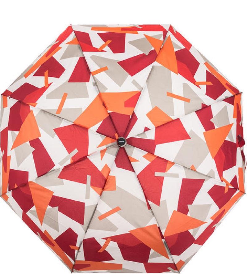 цена Зонт Doppler Crush, белый, бордовый, оранжевый, серый в интернет-магазинах