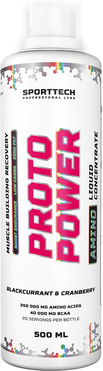 Аминокислотный комплекс Sport Technology Nutrition Proto Power Черная смородина-клюква, 500 мл креатин olimp sport nutrition monohydrate powder 550 г