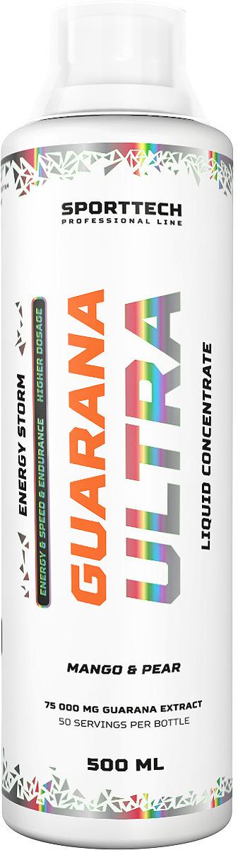 Энергетик Sport Technology Nutrition Гуарана Ultra Малина-клубника, 500 мл цена