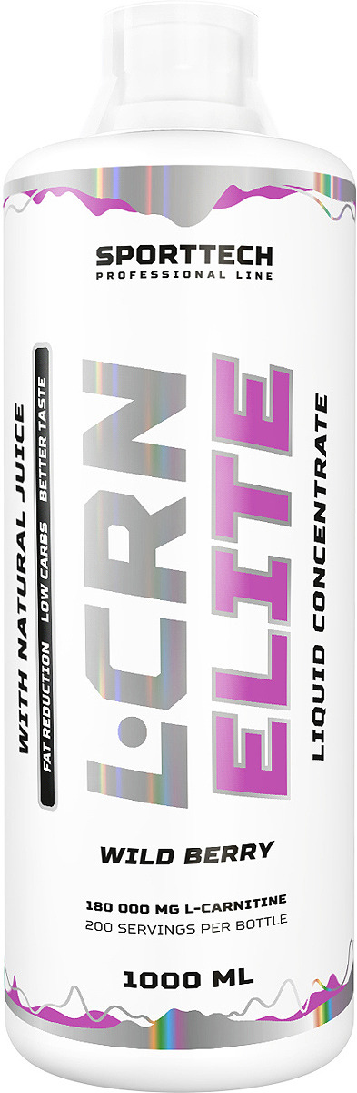 Карнитин Sport Technology Nutrition Elite Лесные ягоды, 1 л креатин olimp sport nutrition monohydrate powder 550 г