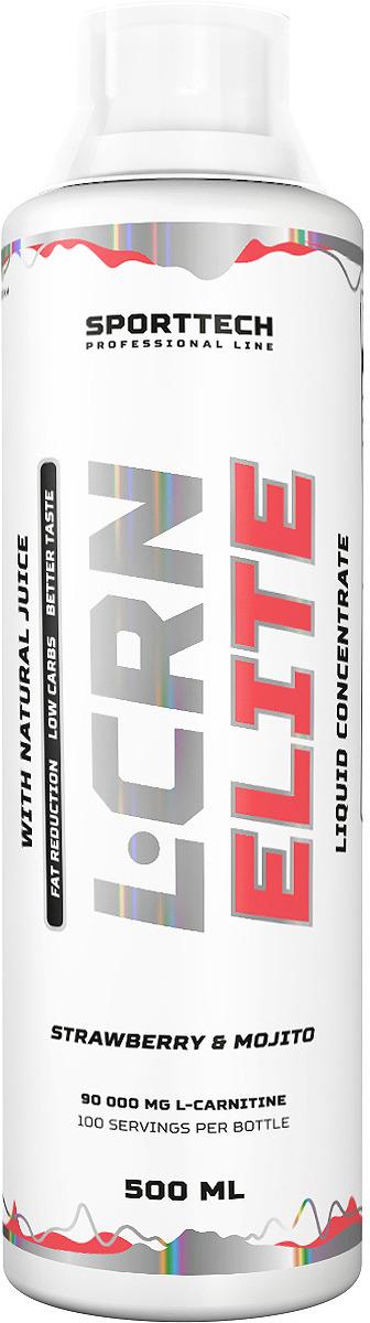 Карнитин Sport Technology Nutrition Elite Клубника-мохито, 500 мл креатин olimp sport nutrition monohydrate powder 550 г