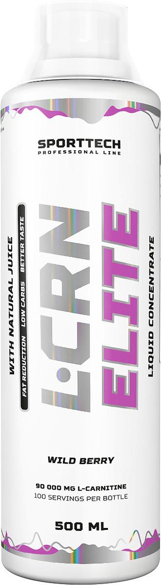 Карнитин Sport Technology Nutrition Elite Лесные ягоды, 500 мл креатин olimp sport nutrition monohydrate powder 550 г