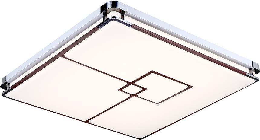 Люстра Максисвет Панель, 1 х LED, 35W. 1-7176-WH+CR Y LED светильник светодиодный максисвет led панель 1 7400 wh y led