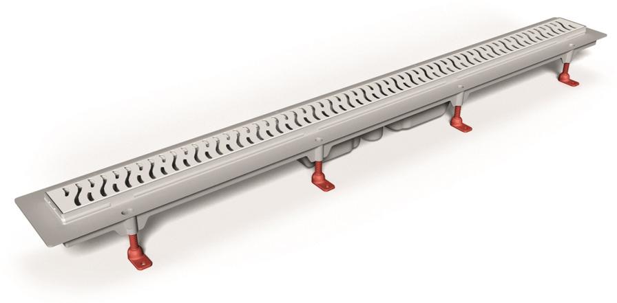 Трап MCH, ИС.110460, линейный, длина 85 см трап для душа alpen harmony 85 ch 850h