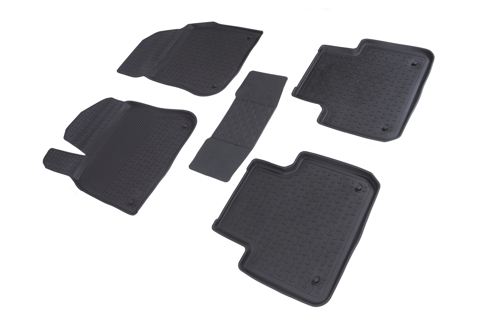 Коврики в салон автомобиля Seintex Резиновые коврики с высоким бортом для Mazda 3 (BM) 2013-н.в. seintex 1322 для mazda 3