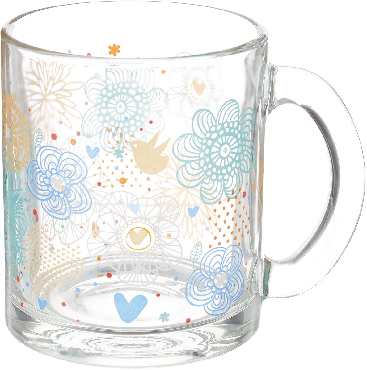 Кружка ОСЗ Чайная Нежное утро, 320 мл кружка осз чайная радужные цветы 300 мл