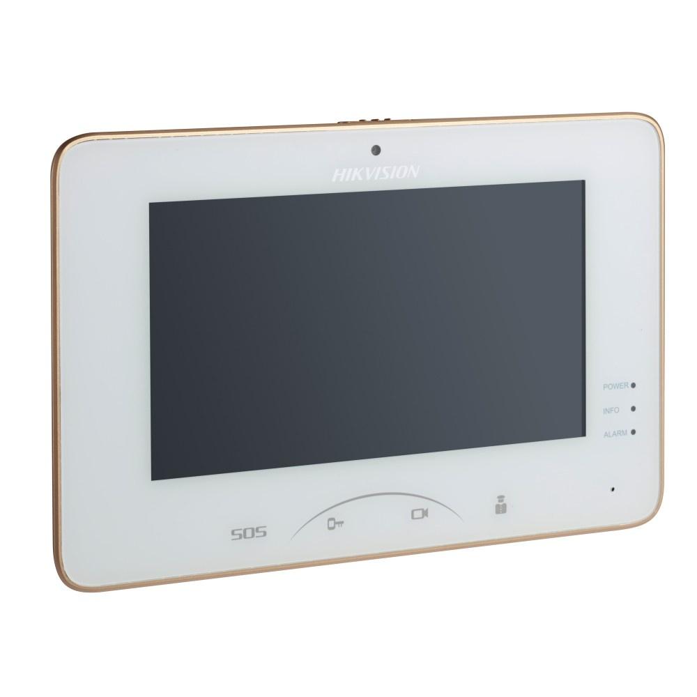 Видеодомофон HIKVISION Видеонаблюдение DS-KH8301-WT, белый
